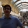 Drew at the Musee d'Orsay