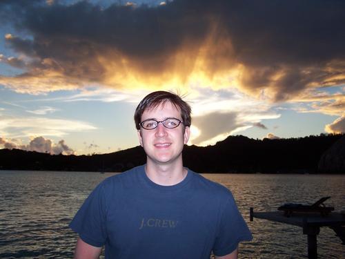 Drew at Sunset