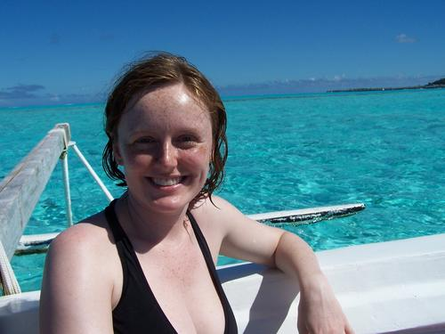 Kelly on the Outrigger